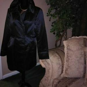 Black Satin blazer or Dress